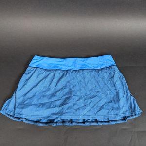 Lululemon Women sport Skirt blue size M
